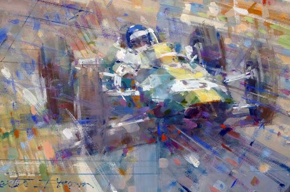 Original Paintings at Speedsport Gallery, Silverstone