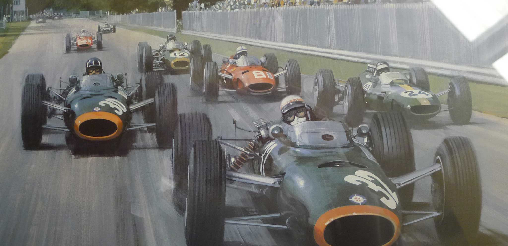 motorsport artwork and collectable art