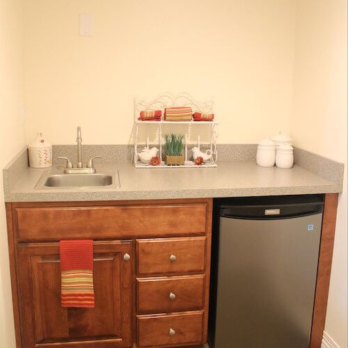 Lawrence Presbyterian Manor Assisted Living kitchen