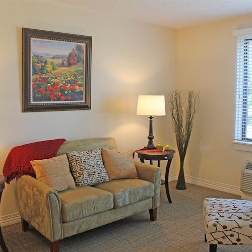 Lawrence Presbyterian Manor Assisted Living sitting room