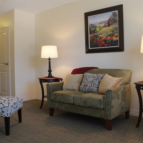 Lawrence Presbyterian Manor Assisted Living room