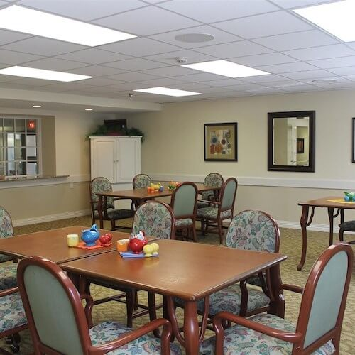 Lawrence Presbyterian Manor Assisted Living dinning