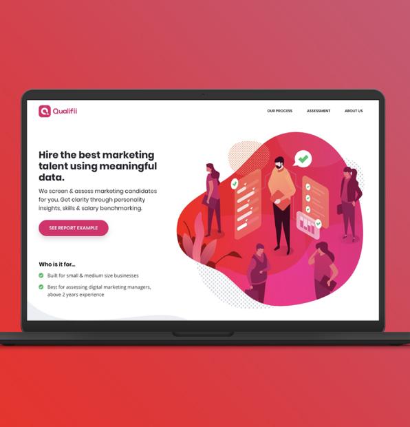 Illustration for Website design