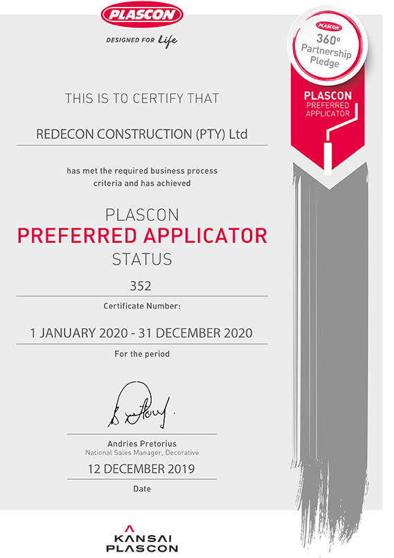Approved Applicator | Plascon