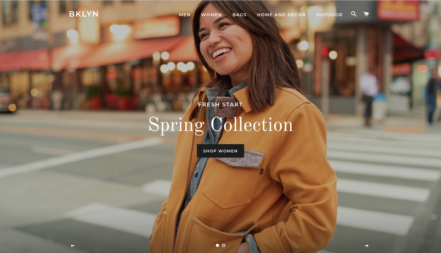 brooklyn shopify theme