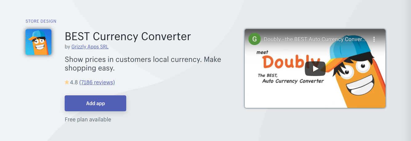 best currency converter shopify app