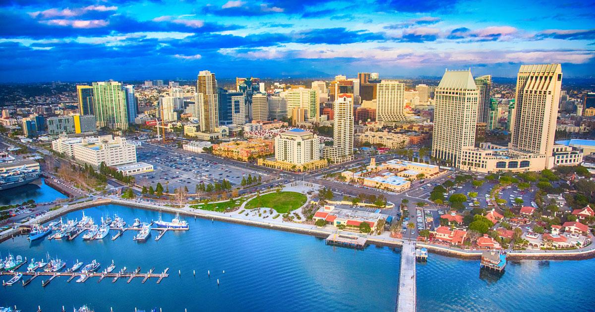 City of San Diego Skyline