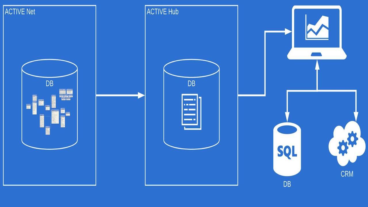 Diagram of ACTIVE Data Hub