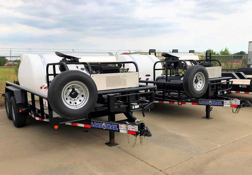 trailer beds capable of moving products
