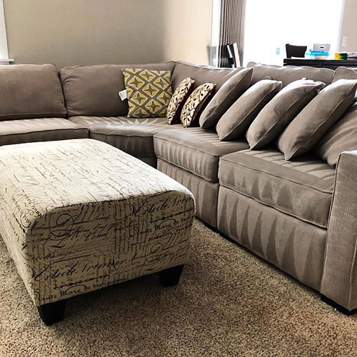 upholstery cleaning project in kirkland