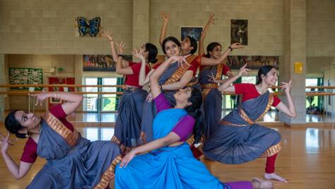 chitraleka dance academy performance group