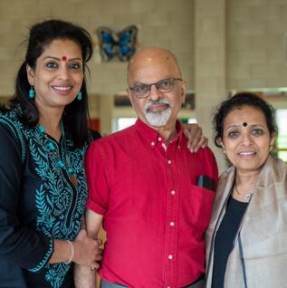 chitraleka bolar, sharad bolar and jaya khazaei