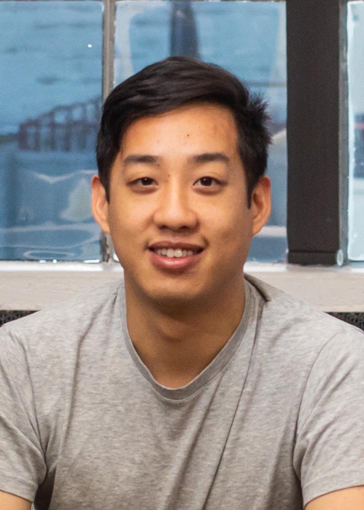headshot of Hubert Wong