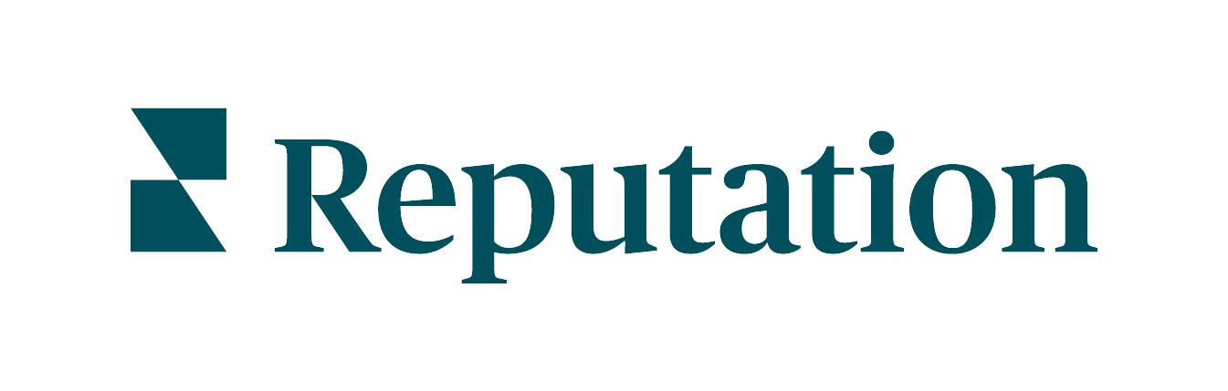 reputation logo on white background