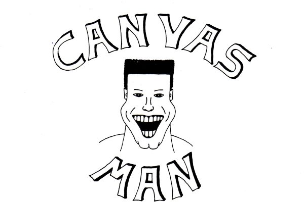 Canvas Man of Topeka