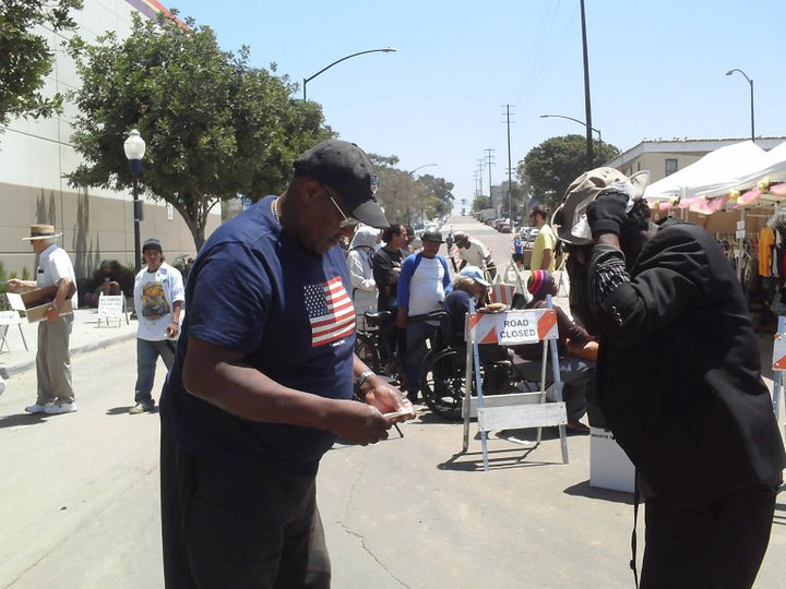 A Vet reaching out to homeless vets. Making first contact.