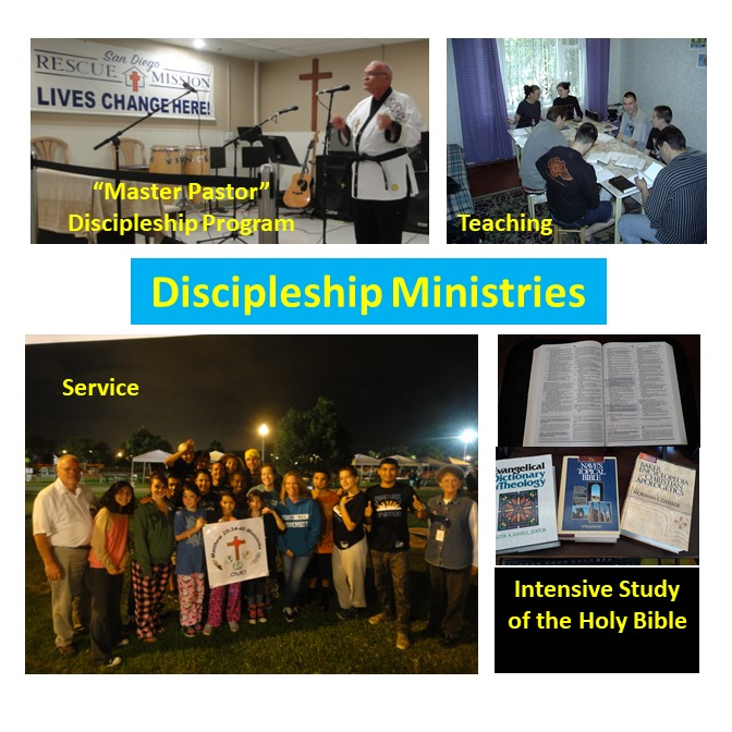 Discipleship is important to us & we many ministries in this category