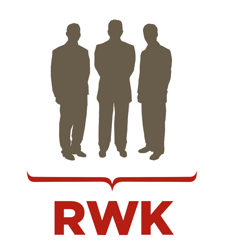 RWK Three Men Outline Logo