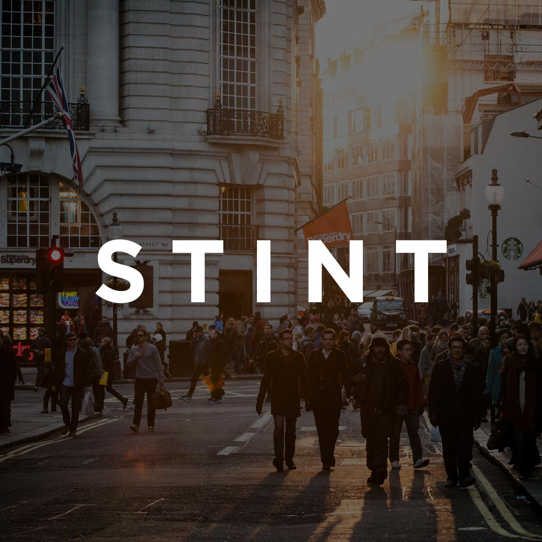 Stint are a London based startup, focused on getting students short terms jobs. I redefined their brand identity.