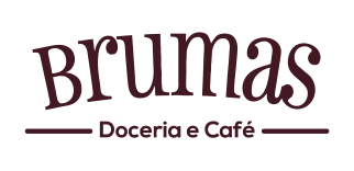 Logotipo Brumas Doceria e Café