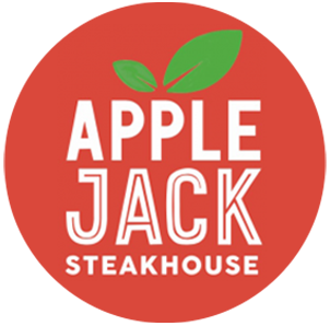Logotipo Apple Jack Steakhouse
