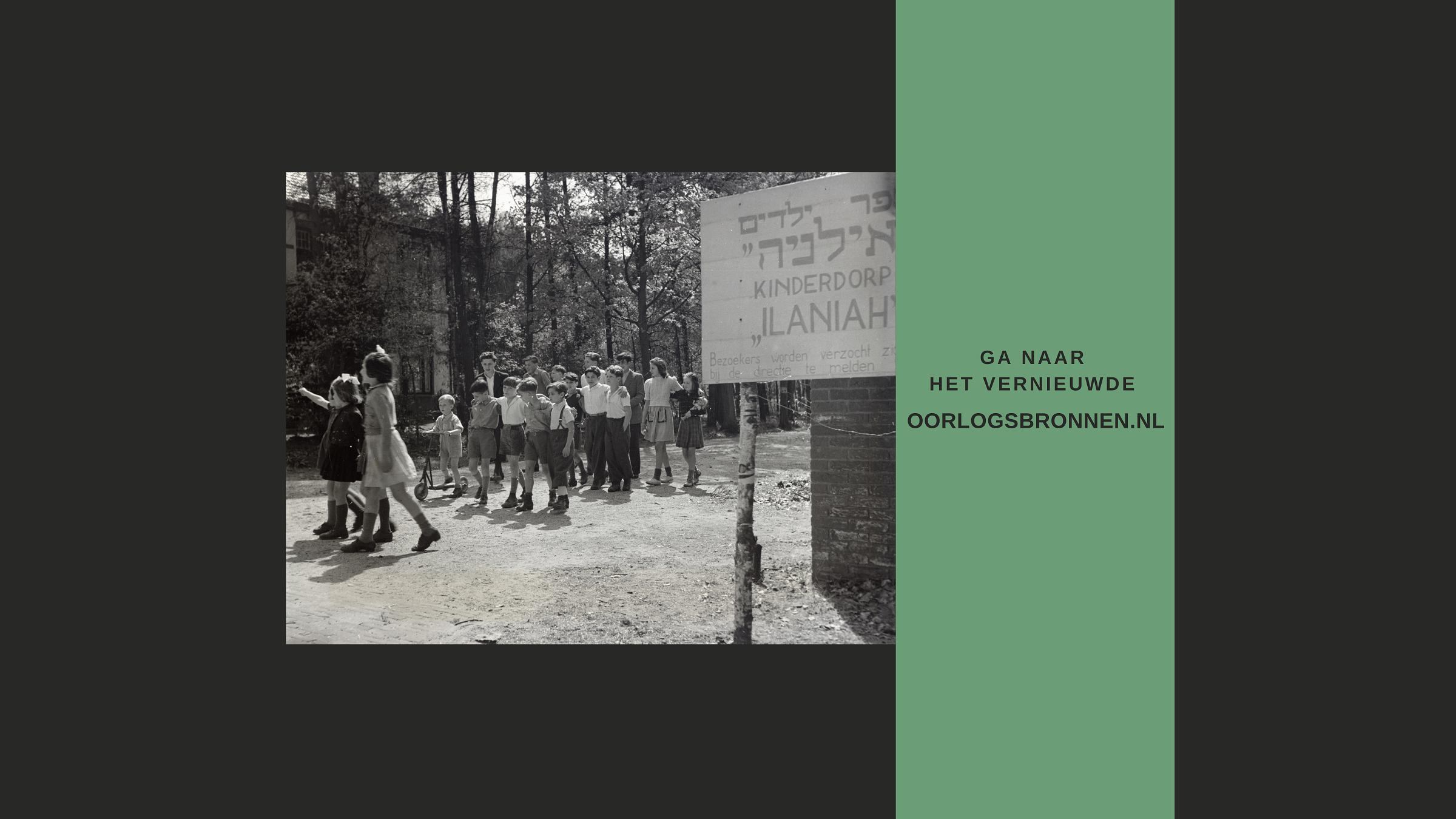 Vernieuwde website oorlogsbronnen.nl gelanceerd