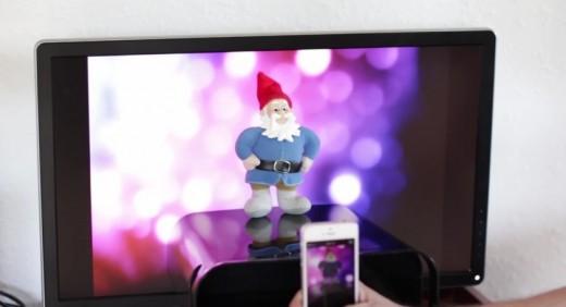 Съёмка дома на смартфон