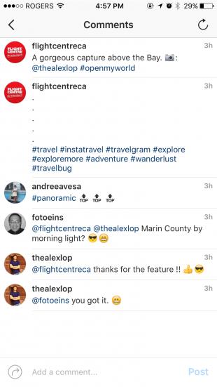 скрыть хэштеги комментарии в Instagram