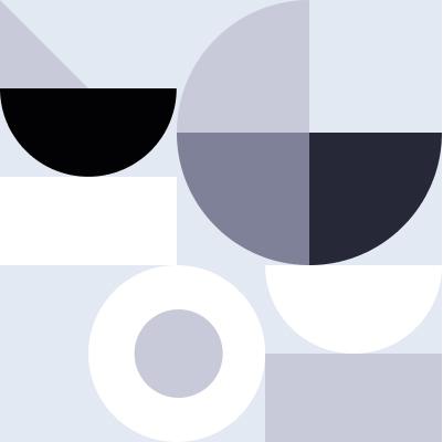 Circle collage illustration
