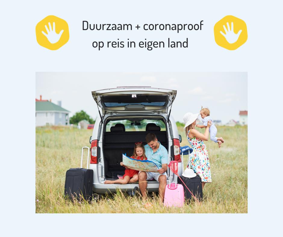 Duurzame en coronaproof vakantiehuisjes!