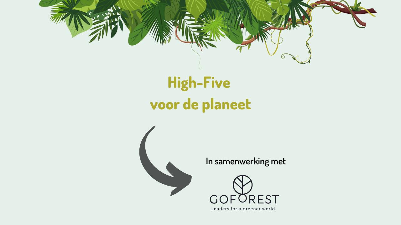 High-Five voor de planeet!