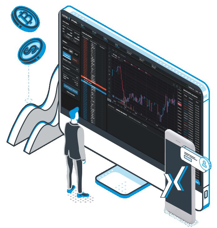 Plataforma e aplicativo de trade de bitcoin e criptomoedas