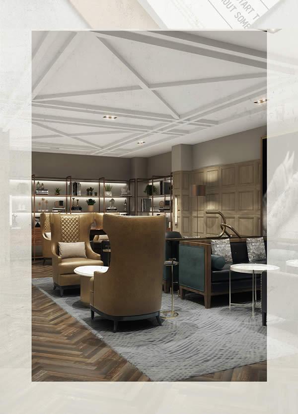 Interior of the Somerset Hills Hotel