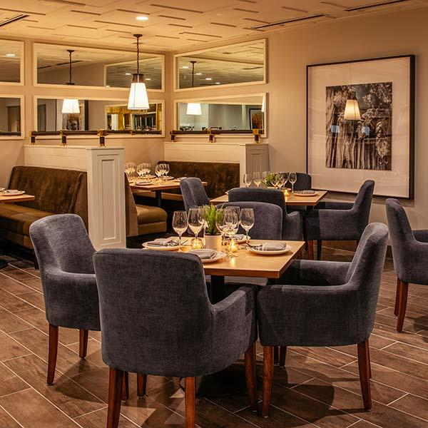 TAP restaurant interior