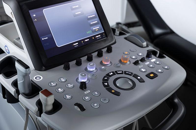 Nahaufnahme eines Ultraschallgeräts