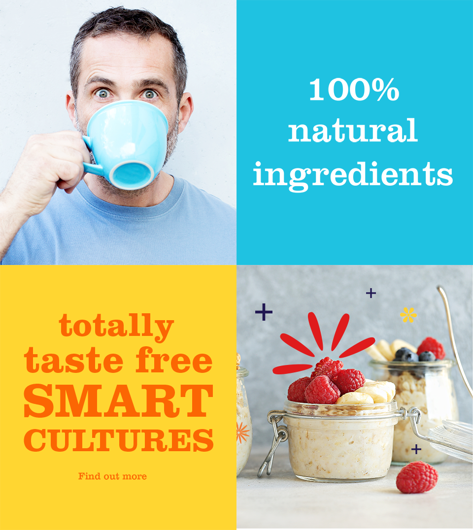 Daily Cultures 100% natural ingredients