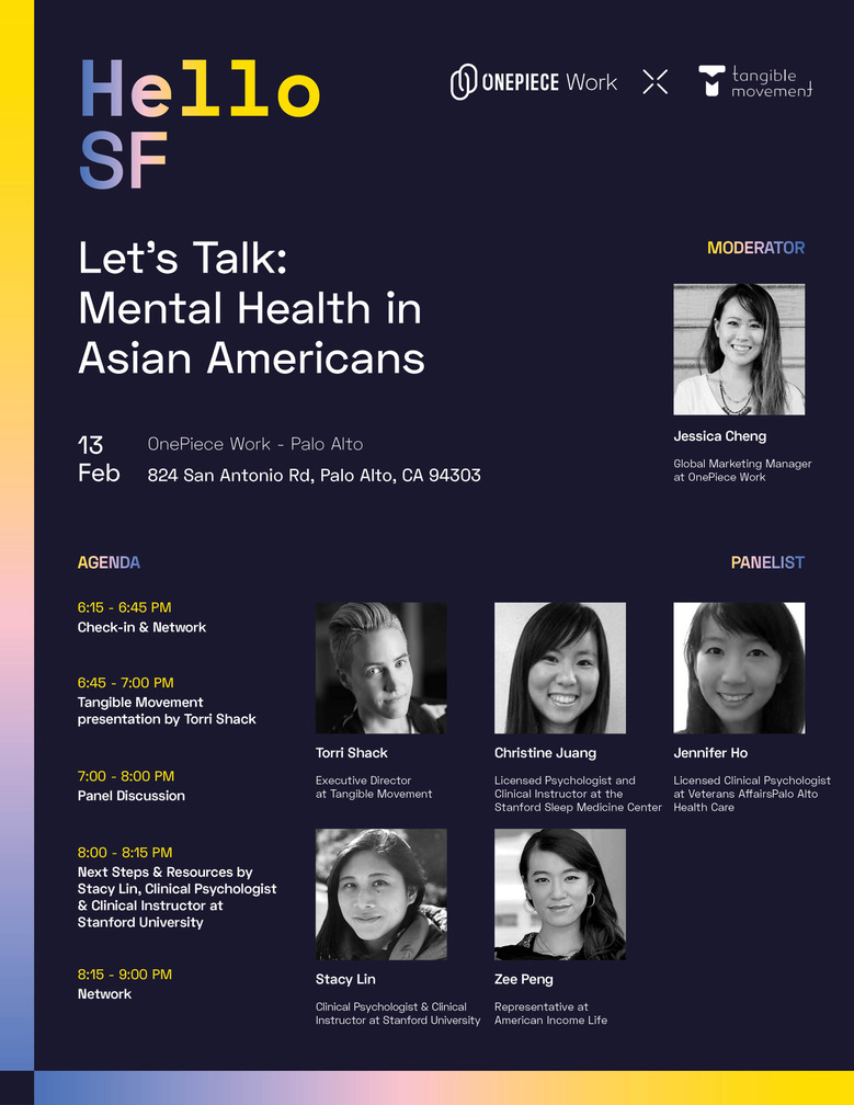 Lets Talk: Mental Health In the Asian Community