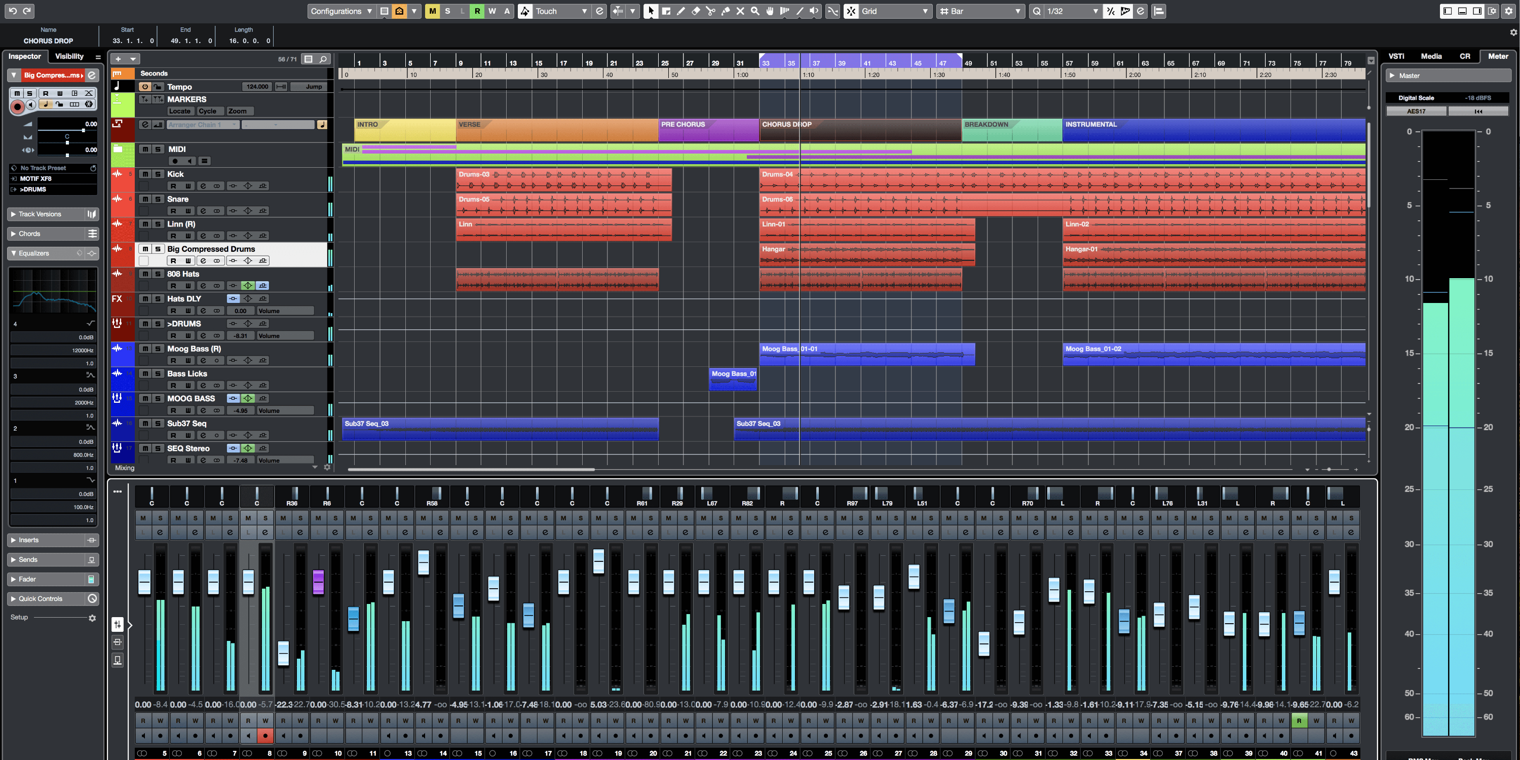 Use Cubase Track Presets as a Template System
