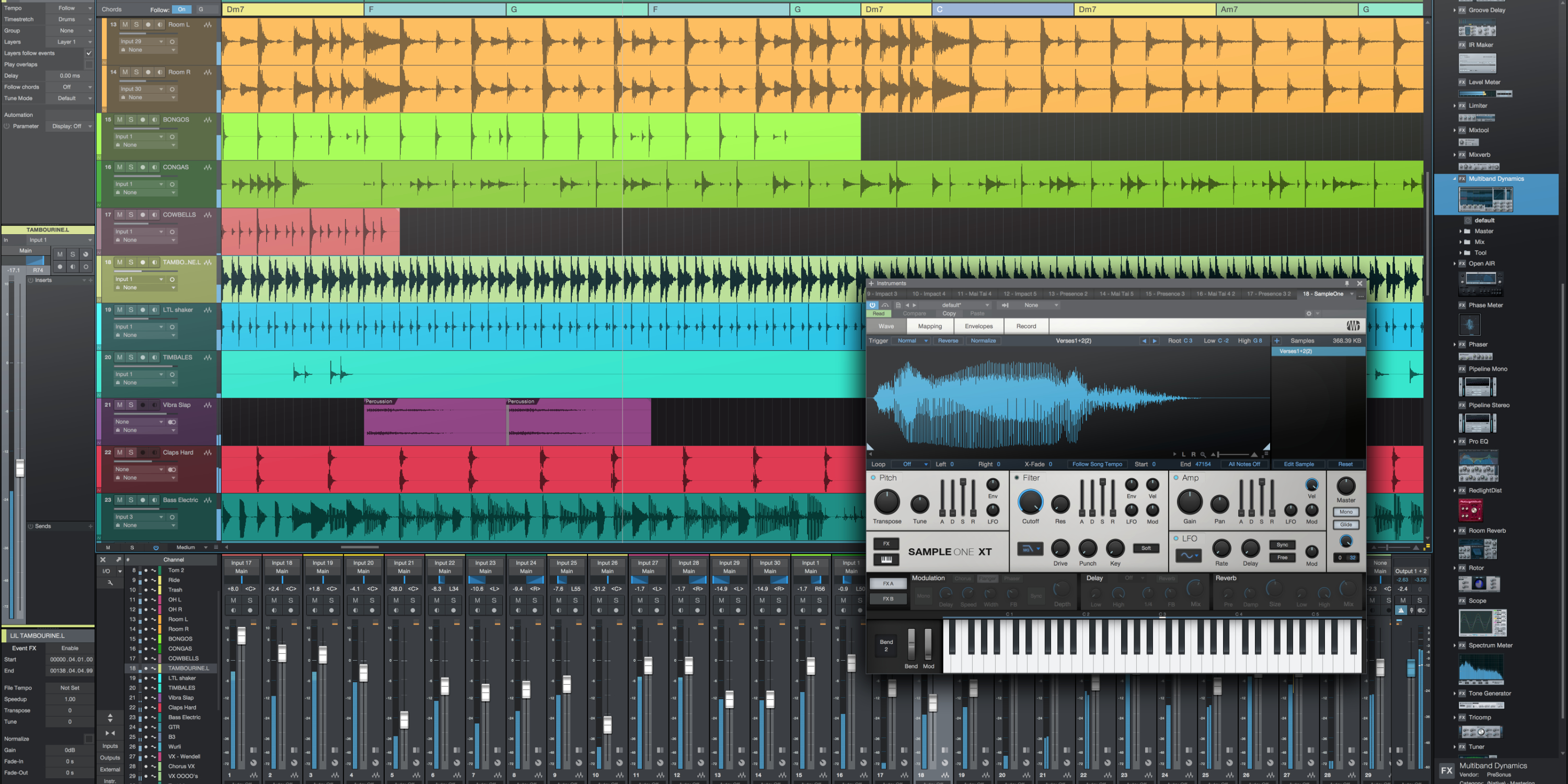 Use Studio One and Instrument Presets for Large Orchestral Projects