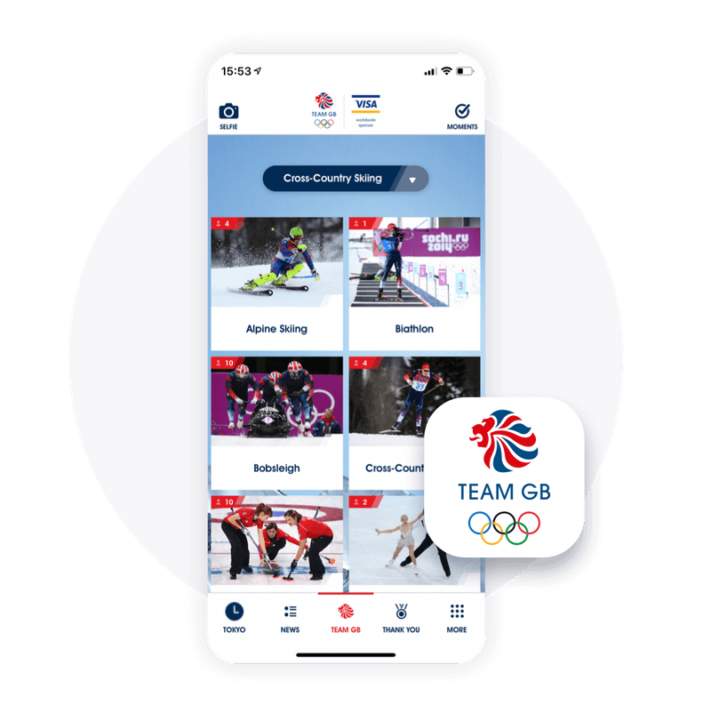 News, schedules and polling on the Winter Olympics app to increase fan interaction