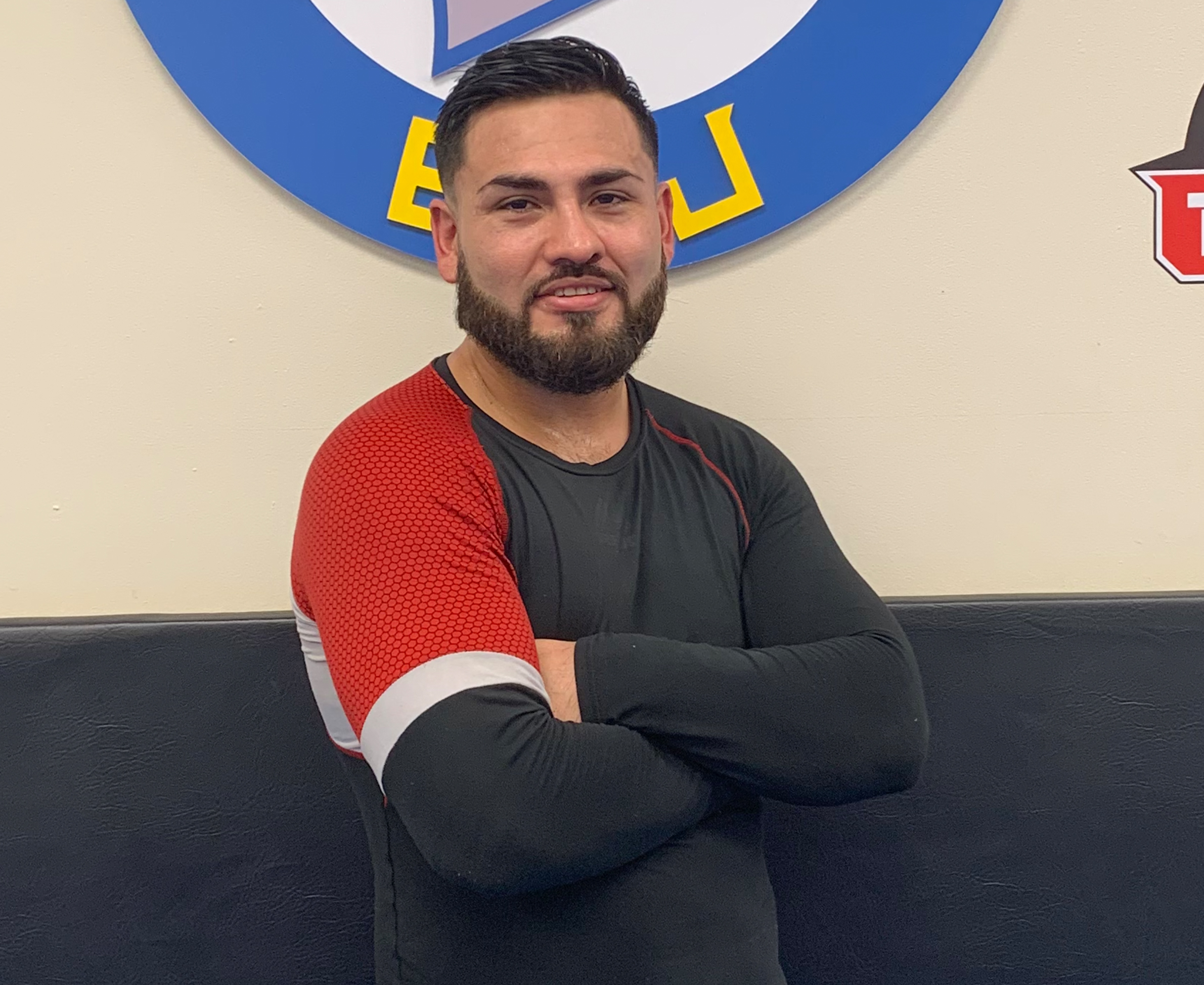 Photo of Gabriel Sejas the Striking Instructor.