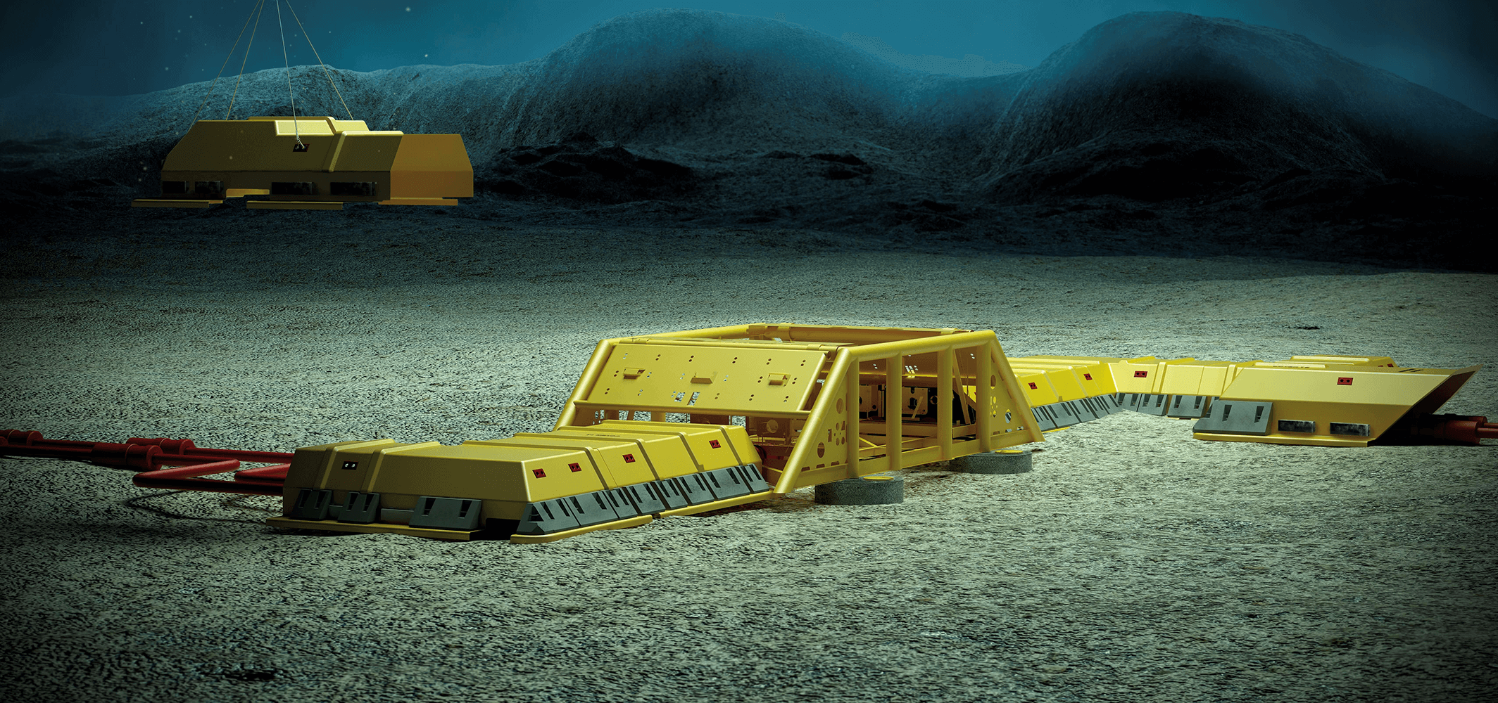 CSUB protection covers for subsea