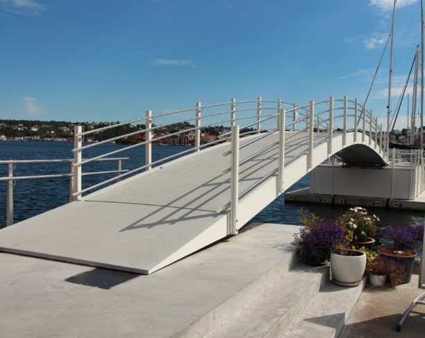 Composite Pedestrian Bridges CSUB Civil Market