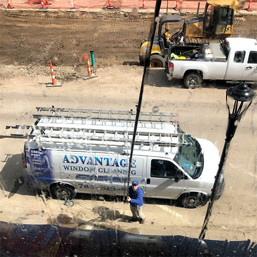advantage softwash truck