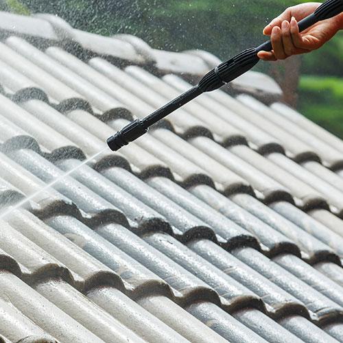 salina roof washing