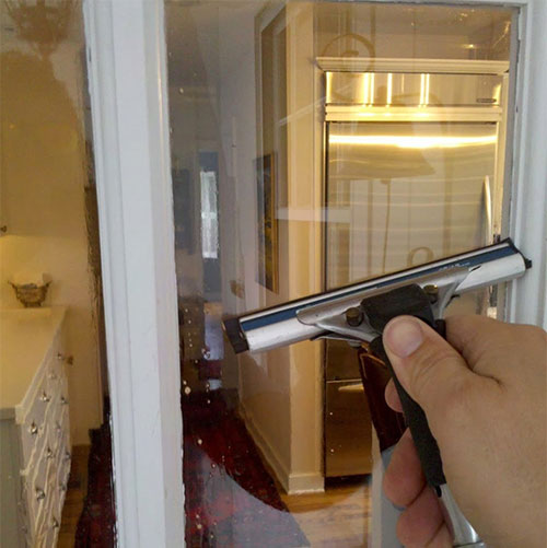 interior window cleaning project salina