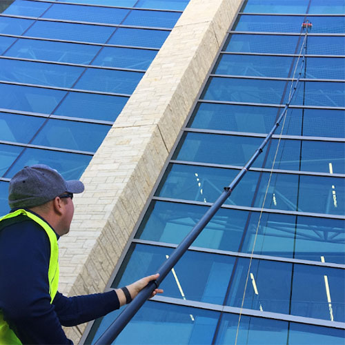 salina commercial window cleaning