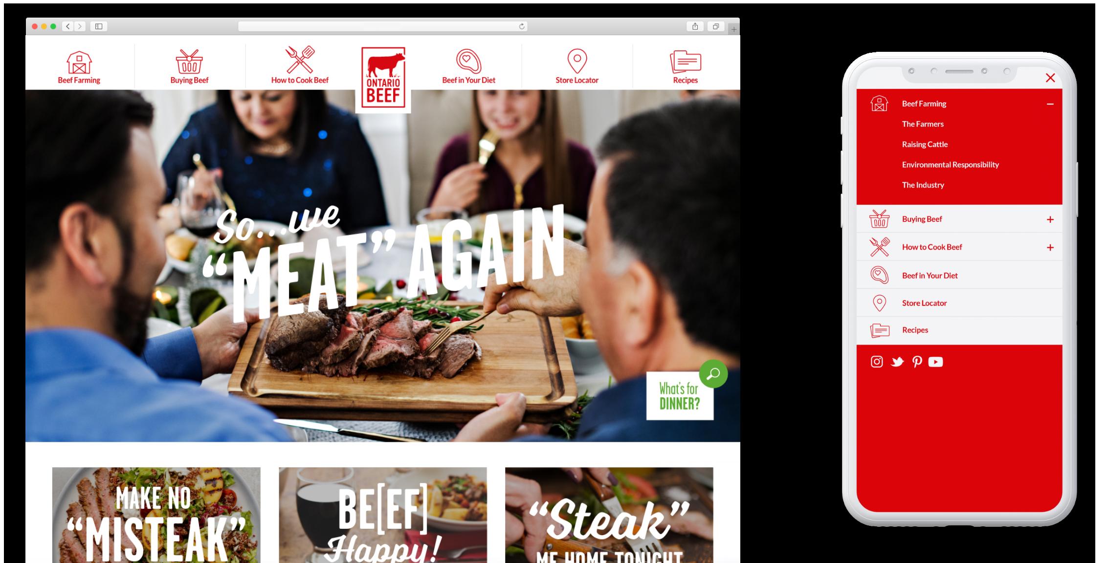 Ontario Beef Website