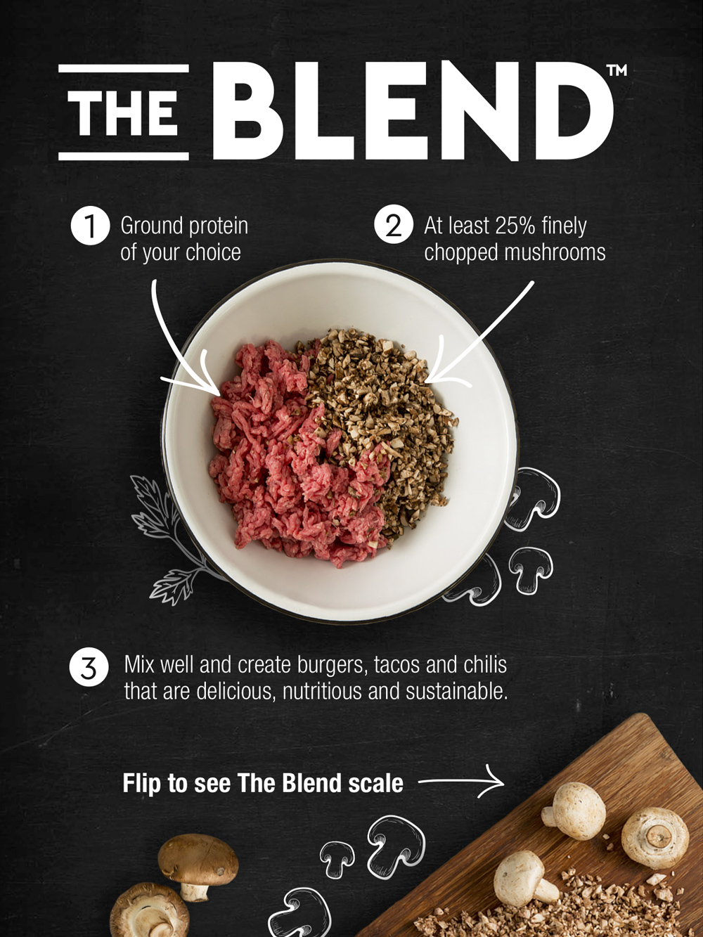 the blend poster