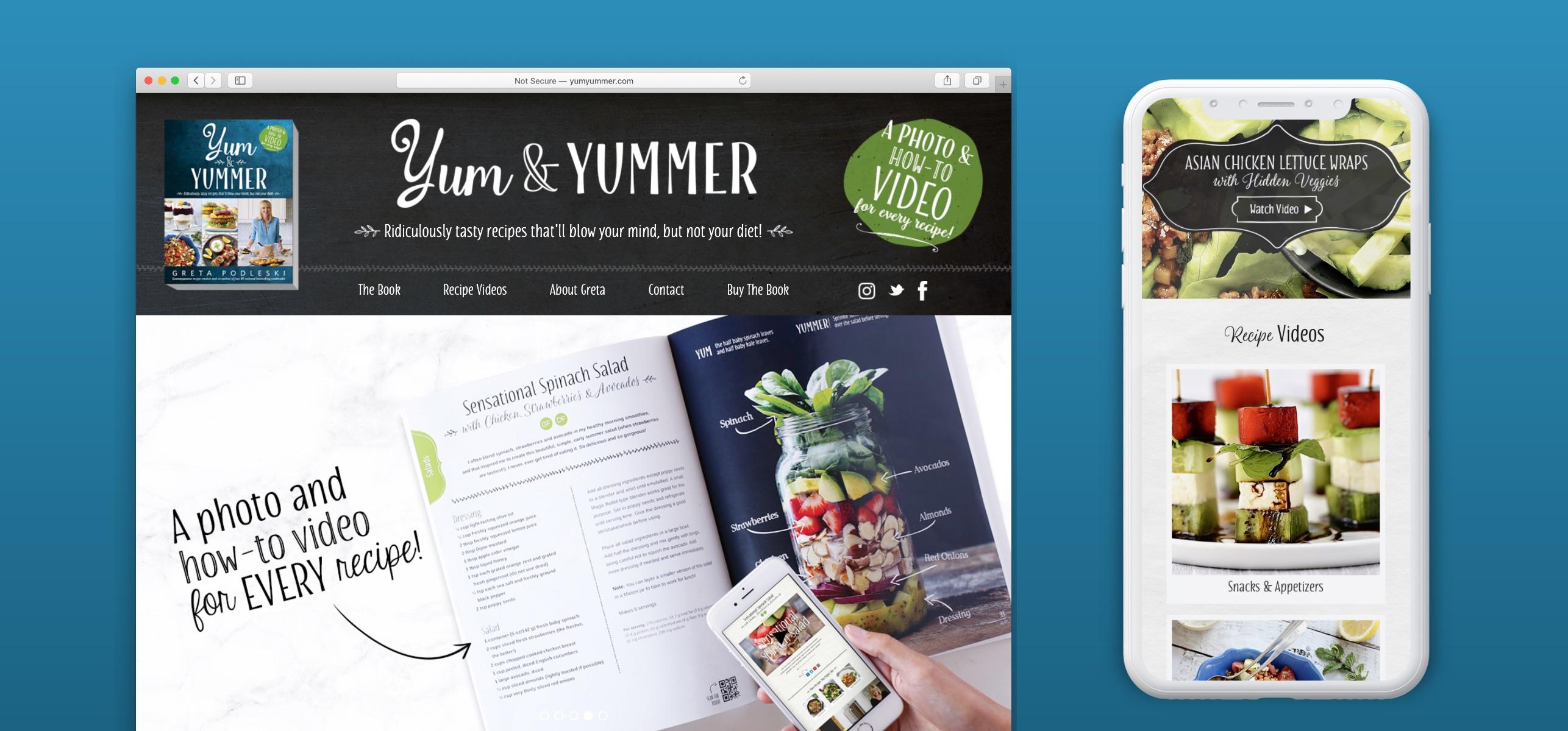 Yum & Yummer Website